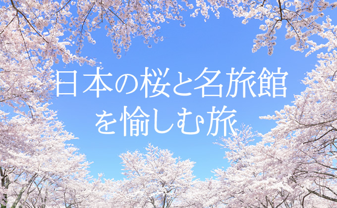 日本の桜と名旅館を愉しむ旅