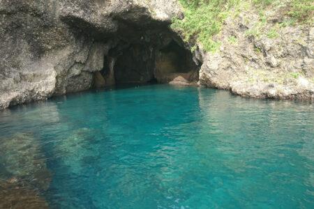 琴浦の竜王洞