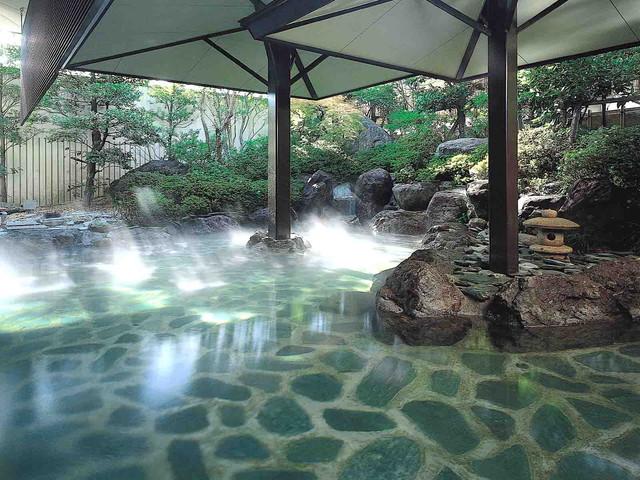 ホテルふじ 露天風呂