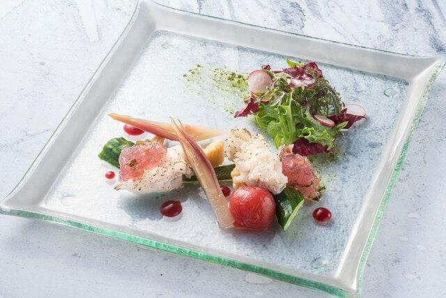 鮒鶴京都鴨川リゾート 料理一例