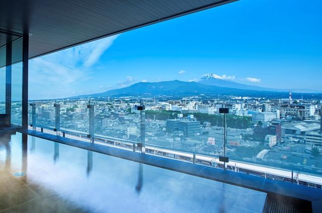 富士山三島東急ホテル 露天風呂