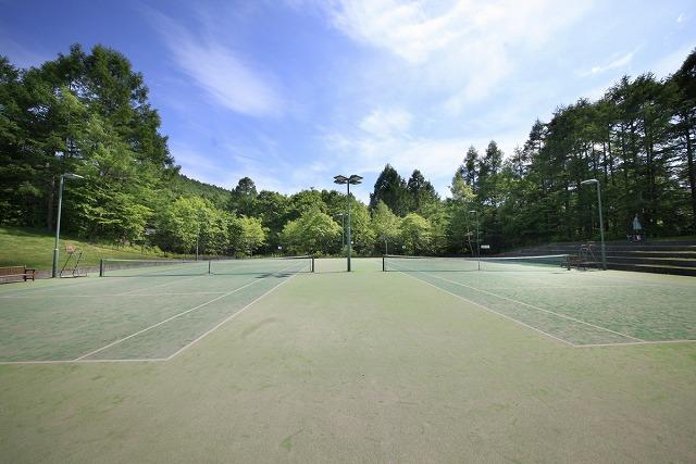 プレジデントリゾート軽井沢 テニスコート